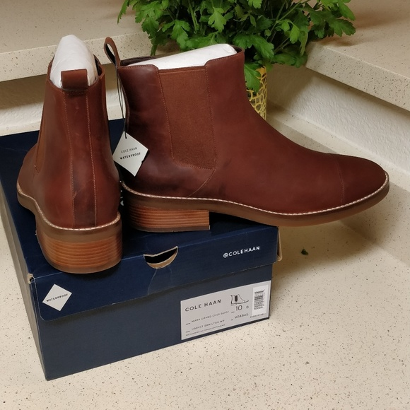 special for shoe 60% discount lace up in Cole Haan Mara Grand Chelsea Boots NWT
